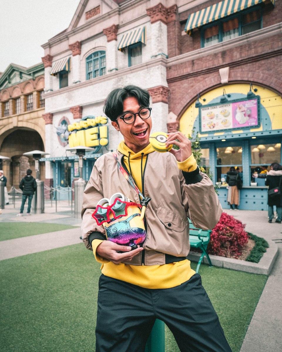 Seharian Main di Universal Studios Japan